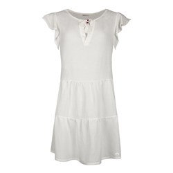 Short Stories Beach Dress 1/2 Arm white